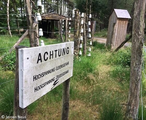 Grensroute achtung