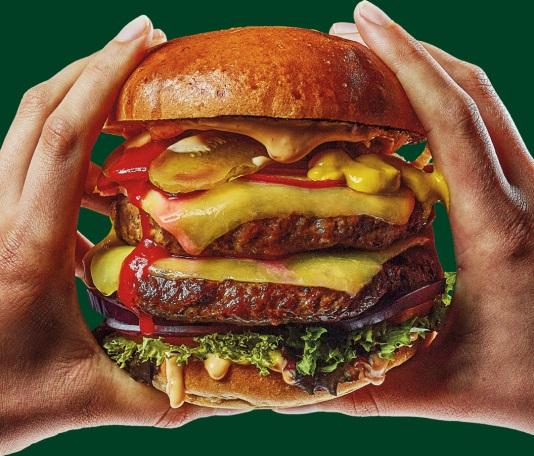Meatless 20 hamburger