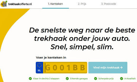 Trekhaakofferte.nl 21 website