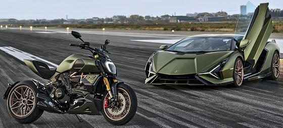 Ducati Diavel 1260 Lamborghini 20 motor auto