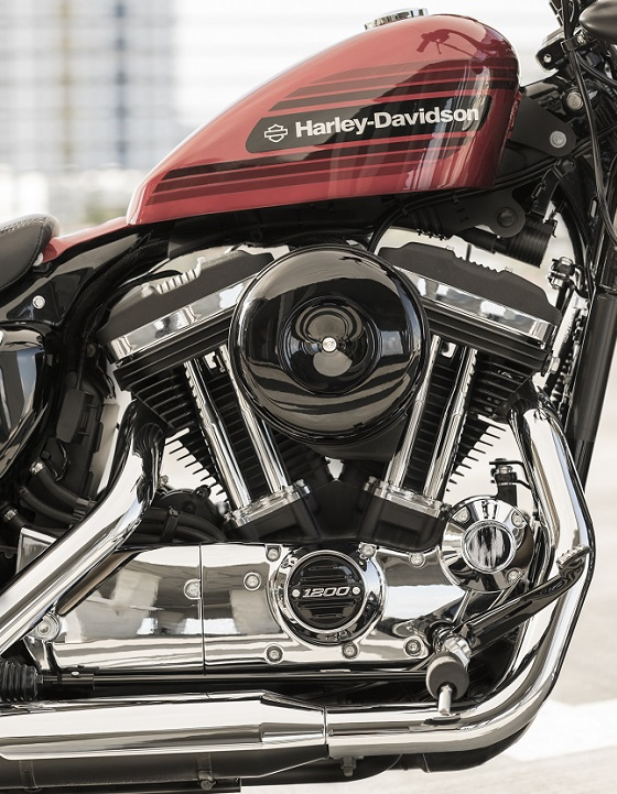 Harley Davidson Forty Eight Special 18 motor