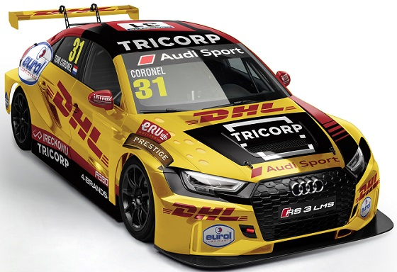 Audi RS 3 LMS WTCR20 rv