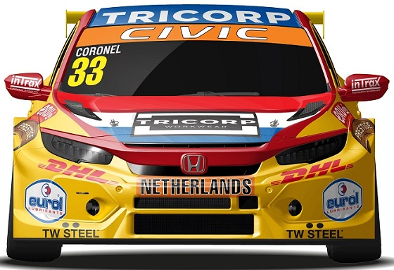 Tom Coronel Civic Nederland 19 neus