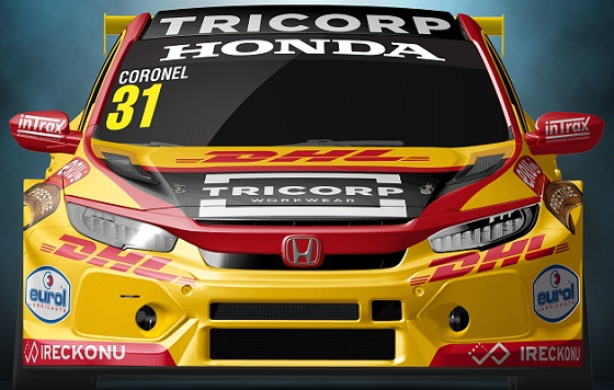 Tom Coronel Honda TCR Europe 20 lv