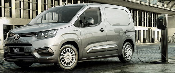 Toyota Proace City Electric 21 lv